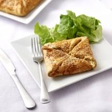 Panier feuilleté saumon