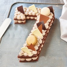 - Chiffre 7 Number cake chocolat