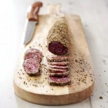 - Saucisson sec sans nitrite au poivre Auchan Le Charcutier