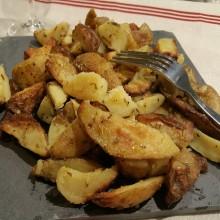 - Pommes de terre wedges