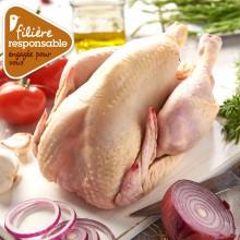 - Poulet blanc de Lyré Bio Filière responsable Auchan