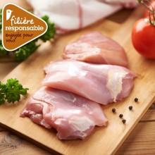 - Escalope de cuisse de poulet Lyré Bio Filière responsable A...
