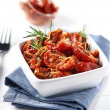 - Tomates confites marinées